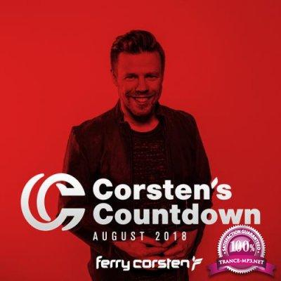 Ferry Corsten Presents Corsten's Countdown August 2018 (2018)