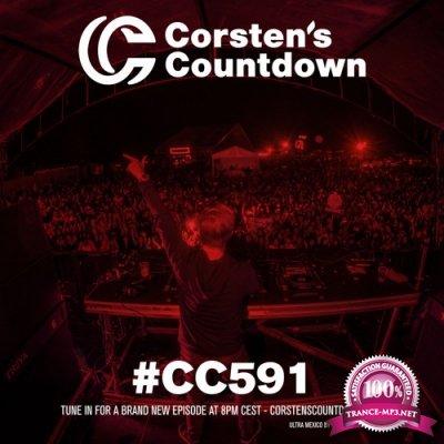 Ferry Corsten - Corsten's Countdown 591 (2018-10-24)