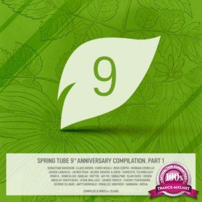 Dj Slang - Spring Tube 9th Anniversary Compilation Part 1 (2018)