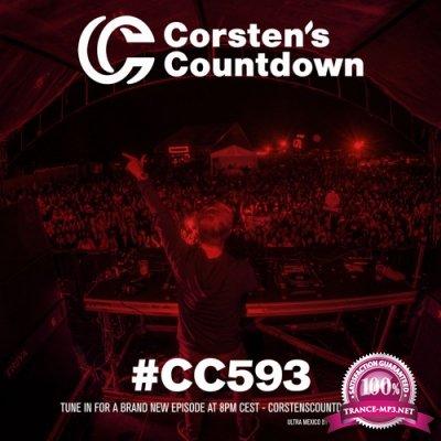 Ferry Corsten - Corsten's Countdown 593 (2018-11-07)