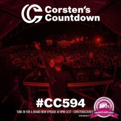 Ferry Corsten - Corsten's Countdown 594 (2018-11-14)