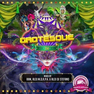 RAM, Alex M.O.R.P.H. & Alex Di Stefano - Grotesque 350 [3CD] (2018) FLAC