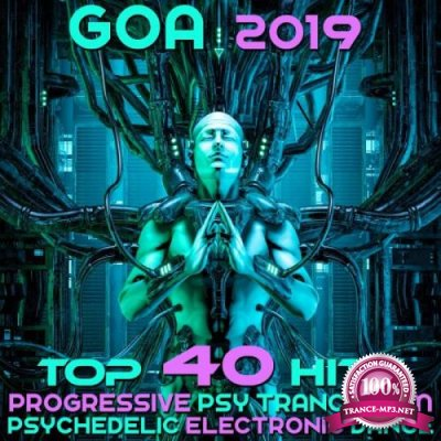 Goa 2019 (Top 40 Hits Best Of Progressive Psy Trance EDM & Psychedelic Electronic Dance) (2018)