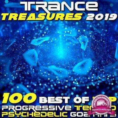 Trance Treasures 2019 (100 Best Of Top Progressive Techno Psychedelic Goa Hits) (2018)
