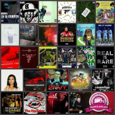 Rap Music Collection Pack 024 (2018)