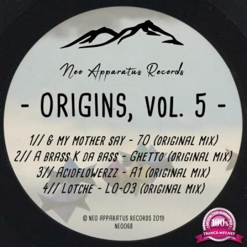 Neo apparatus - Origins, Vol. 5 (2019)