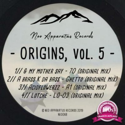 Neo apparatus - Origins, Vol. 5 (2019)