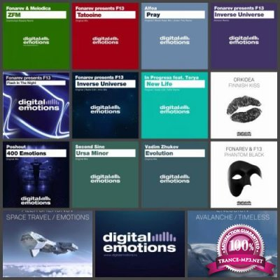 Label: Digital Emotions (15 Releases) 2010-2018 (2019 FLAC