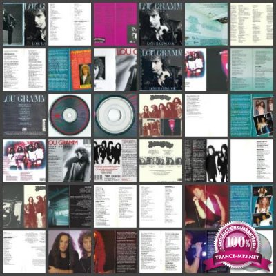 Lou Gramm - Discography (lossless, 1975-2018) FLAC