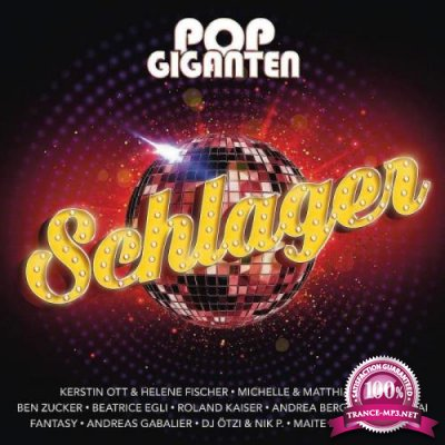 Pop Giganten Schlager [2CD] (2019)