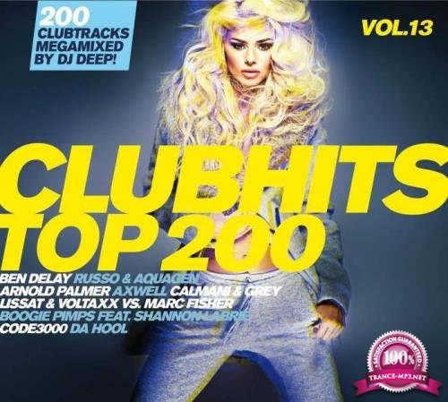 Da Music - Clubhits Top 200 Vol. 13 [3CD] (2019) FLAC