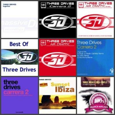 Three Drives - 9 Releases (tracks, tracks+.cue) (2001-2011) FLAC