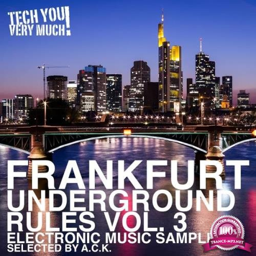 Frankfurt Underground Rules, Vol 3 (Selected by A.C.K.) (2019)
