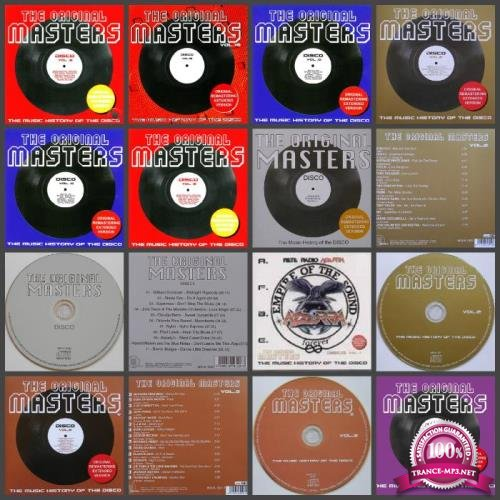 The Original Masters: The Music History of the Disco Vol. 1 - 11 (2007-2015) FLAC