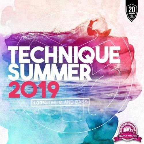 Technique Summer 2019 (100% Drum & Bass) (2019)