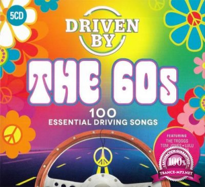 Driven By The 60s: 100 Essential Driving Songs (5CD) (2019) FLAC