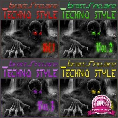 Bratt Sinclaire Techno Style Vol 1-5 (2019)