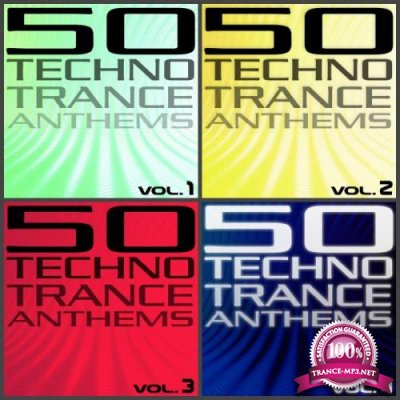 50 Techno Trance Anthems Vol 1-4 (2007-2012) FLAC