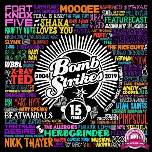 Mooqee & Beatvandals & Curated - Bombstrikes: 15 Years (2019)