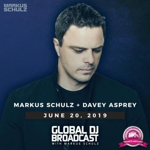 Markus Schulz & Davey Asprey - Global DJ Broadcast (2019-06-20)