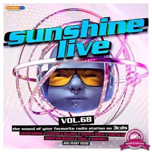 Uptrax Records - Sunshine Live Vol. 68 [3CD] (2019) FLAC