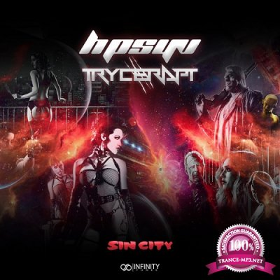 Trycerapt & Hpsyv - Sin City (Single) (2019)