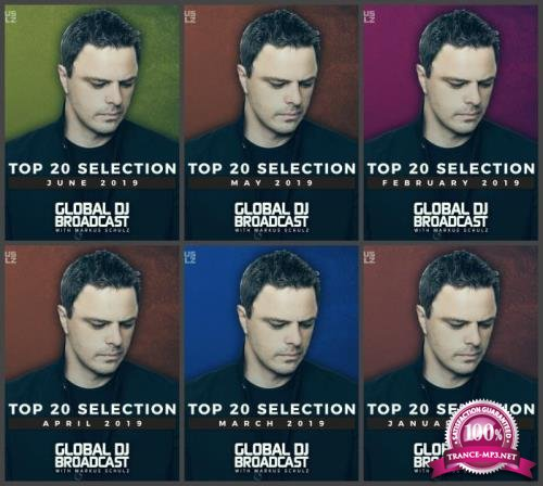 Global DJ Broadcast Top 20: 6 Releases (Part 1) -  2019 (2019) FLAC