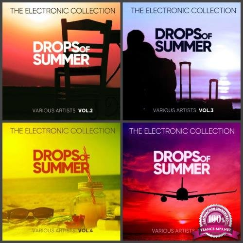 Drops Of Summer (The Electronic Collection), Vol. 1-4 (2019)