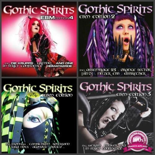 Gothic Spirits - EBM Edition Vol 1 - 7 [14CD] (2009-2016) FLAC