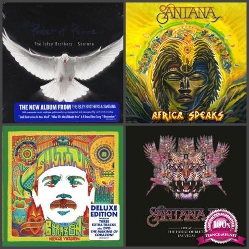 Santana - Albums Collection: 7 Albums (2012-2019) (2019) FLAC