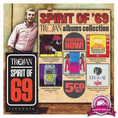 Spirit Of '69  Trojan (Albums Collection) [5CD] (2019) FLAC