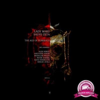 Lady Maru & Salvo Zeta - The Age Of Punkrage (2019)