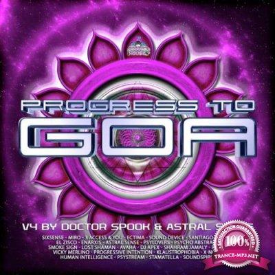 Doctor Spook & Astral Sense - Progress to Goa, Vol. 4 (2019)
