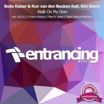 Bodo Kaiser & Ron Van Den Beuken feat. Kim Kiona - Walk On My Own (2019)