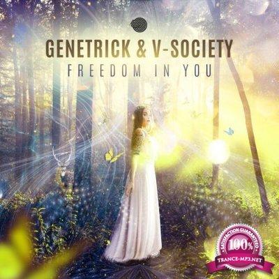Genetrick & V-Society - Freedom in You (Single) (2019)