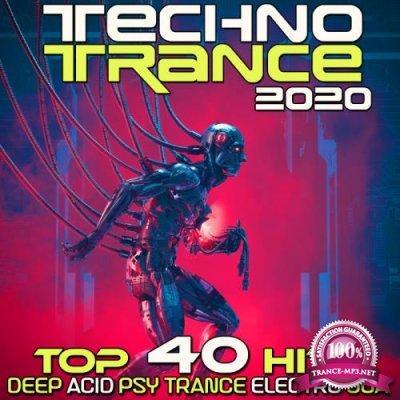 Techno Trance 2020: Top 40 Hits Deep Acid Psy Trance Electro Goa (2019)