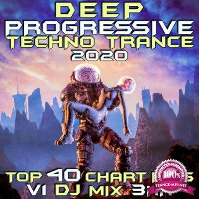 Deep Progressive Techno Trance 2020 Top 40 Chart Hits, Vol. 3 (DJ Mix 3Hr) (2019)
