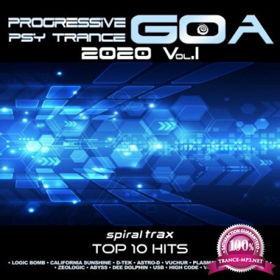 Progressive Goa Trance 2020 Top 20 Hits Spiral Trax, Vol. 1 (2019)