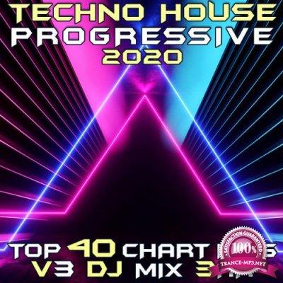 Techno House Progressive Psy Trance 2020 Top 40 Chart Hits, Vol. 3 (2019)