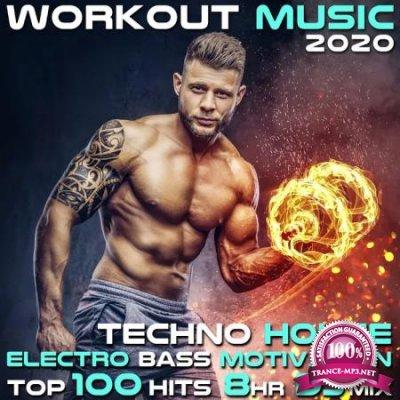 Workout Music 2020 Techno House Electro Bass Motivation Top 100 Hits 8 Hr DJ Mix (2020)