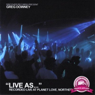 Greg Downey - Life As... Vol. 5 [CD] (2007) FLAC