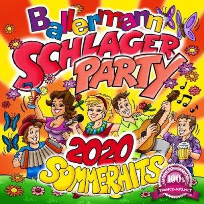 Ballermann Schlagerparty 2020 - Sommerhits (2020)