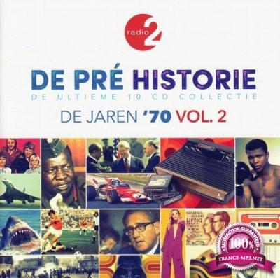 De Pre Historie - De Jaren '70 Vol. 2 (De Ultieme 10 CD Collectie) [10CD] (2020) FLAC