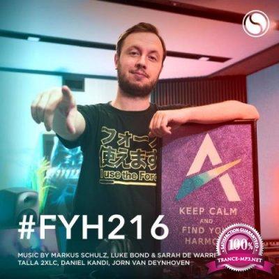 Andrew Rayel - Find Your Harmony Radioshow 216 (2020-07-29)