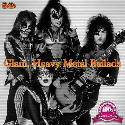 Glam, Heavy Metal Ballads 5CD (2020) FLAC