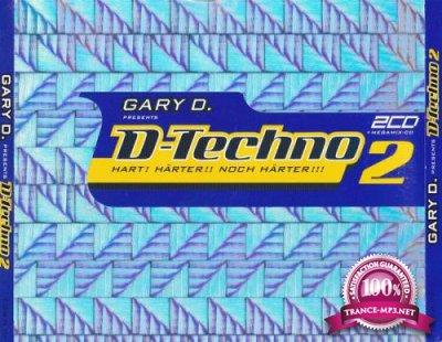 Gary D. presents D-Techno 2 [3CD] (2000) FLAC