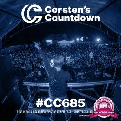 Ferry Corsten - Corsten's Countdown 685 (2020-08-12)