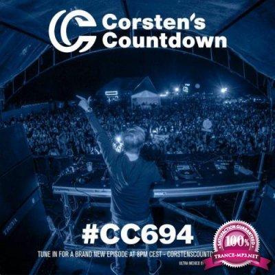 Ferry Corsten - Corsten's Countdown 694 (2020-10-14)