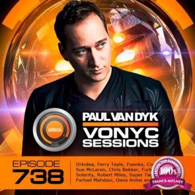 Paul van Dyk - VONYC Sessions 738 (2020-12-24)