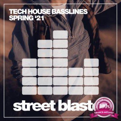 Tech House Basslines Spring '21 (2021)